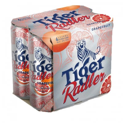 Tiger Radler Can Beer - Grapefruit