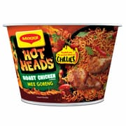 Hot Heads Roast Chicken Mee Goreng Bowl 98g