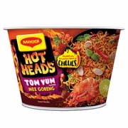 Hot Heads Tom Yum Mee Goreng Bowl 97g