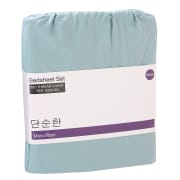 Microfiber Solid Bedsheet Set 620 Thread Count - Single