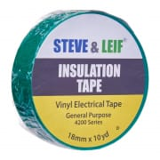 Insulation Tape - Green Vinyl Electrical Tape 18mm x 360inches