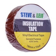 Insulation Tape - Brown Vinyl Electrical Tape 18mm x 360inches