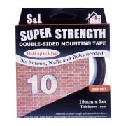 Double Sided Mounting Tape Super Strength 10mm x 3m