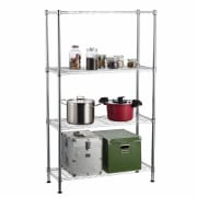 4 Tier Chrome Rack