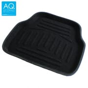 Car Floor Mat Rear Black Medium