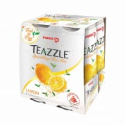 POKKA Teazzle Sparkling Ice Tea Lemon 4sX325ml