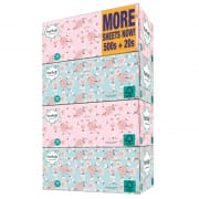 3 Ply Facial Tissue Box Sakura 4X130Sheets