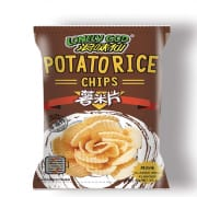 Lonely God Potato Rice Chips Classic BBQ 35g
