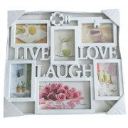 Live Love Laugh 6X4X6cm