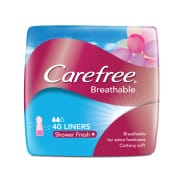 Breathable Shower Fresh 40s