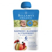 Organic Raspberry, Blueberry & Strawberry 120g