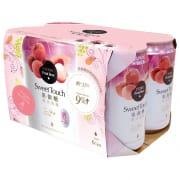 SWEET TOUCH Taiwan Fruit Beer - Lychee 6sX330ml