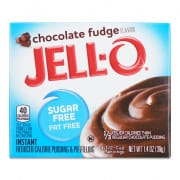 JELL-O Sugar Free Instant Chocolate Flavor Pudding
