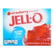 Sugar Free Strawberry Gelatin 17g