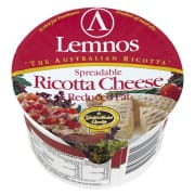 LEMNOS Reduced Fat Ricotta Cheese* 250g