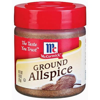 MCCORMICK Ground All Spices 25g