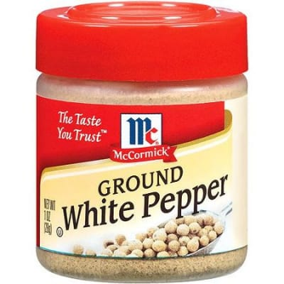 MCCORMICK Ground White Pepper 28g
