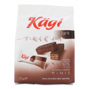 Swiss Chocolate Wafer Minis - Dark 125g