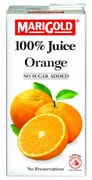 MARIGOLD 100% Juice Orange 1L