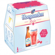 HOEGAARDEN Beer Bottle Rosee 6sX250ml