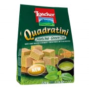 Loacker Quadratini Matcha Green Tea 220g