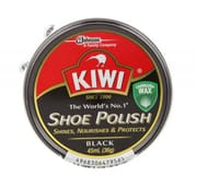Shoe Polish Wax Black 45ml
