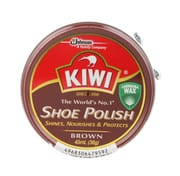 Shoe Polish Wax Brown 45ml