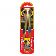 Toothbrush Ultra Soft Anti-Bacterial Gold Charcoal 360 2s