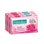 Bar Soap Soft & Moisture With Milk & Rose Petals 3sX80g