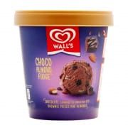 Ice Cream Tub Choco Almond Fudge 750ml