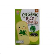 Organic Spinach Rice Cracker 30g
