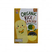 Organic Pumpkin Rice Cracker 30g