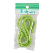 S Hook PVC 100mm - Assorted Colours