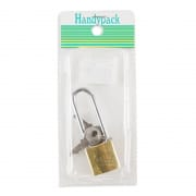 Padlock Brass 25mm Extra Long 6625