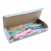 Paper Fastener - Assorted Colours 80mmX50s