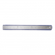 Ruler Stainless Steel 30cm