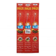 Sparklers Red 12X5s #0979