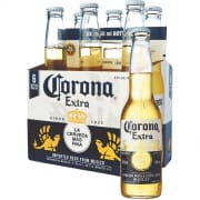 CORONA Extra Beer Bottles 6sX355ml