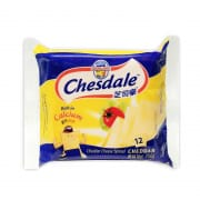 CHESDALE Cheddar Cheese Slices 12sX250g