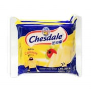 CHESDALE Cheddar Cheese Slices 2sX250g