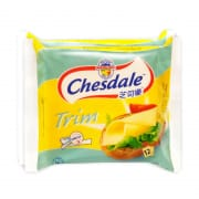 CHESDALE Trim Cheese Slices Twin Pack 12sX250g
