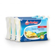 Cheddar Cheese Slices Triple-pack 12sX200g