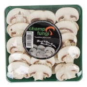 Sliced Mushroom - White Button 125g