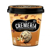 La Cremeria Vanilla Cashew Delight Ice Cream Tub 750ml