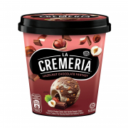 La Cremeria Hazelnut Chocolate Ice Cream Tub 750ml