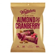 Whittaker's Almond & Cranberry Mini Sharepack 180g