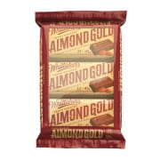 Whittaker's Almond Gold Multipacks 45g x 3
