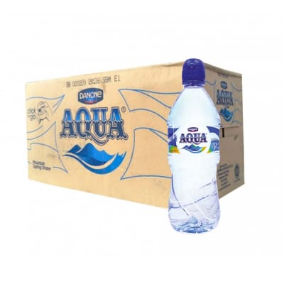 AQUA Mountain Spring Water Sport Cap 18sX750ml