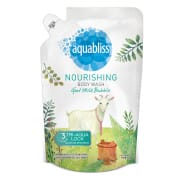 AQUABLISS. Nourishing Body Wash Refill - Goat Milk Bubble 950ml