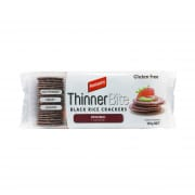 Thinner Bite Black Rice Cracker Original 100g